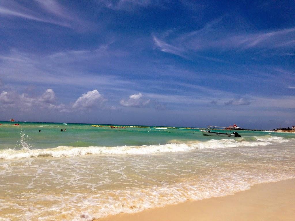Main Beach in Playa Del Carmen, Mexico