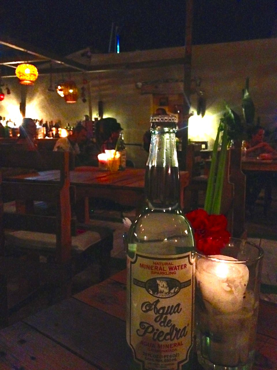 Dinner at a cute Argentinian Restaurant in Tulum Mexico