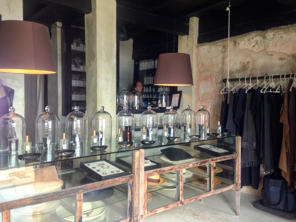 The perfume store in Coqui Coqui Hotel, Tulum Mexico