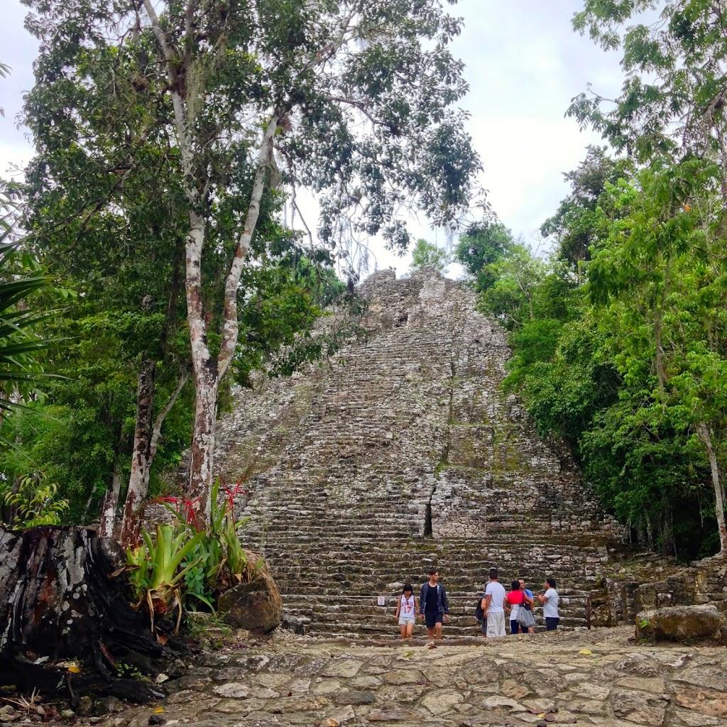 We climbed the Grand Pyramid!