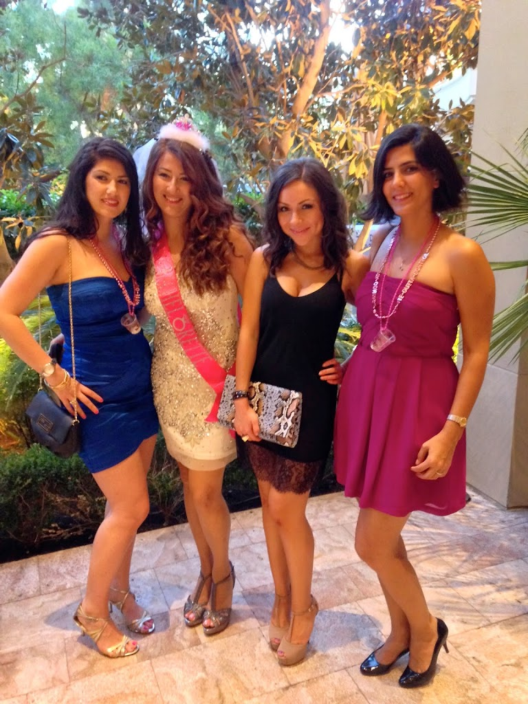 Nihan and friends in Las Vegas