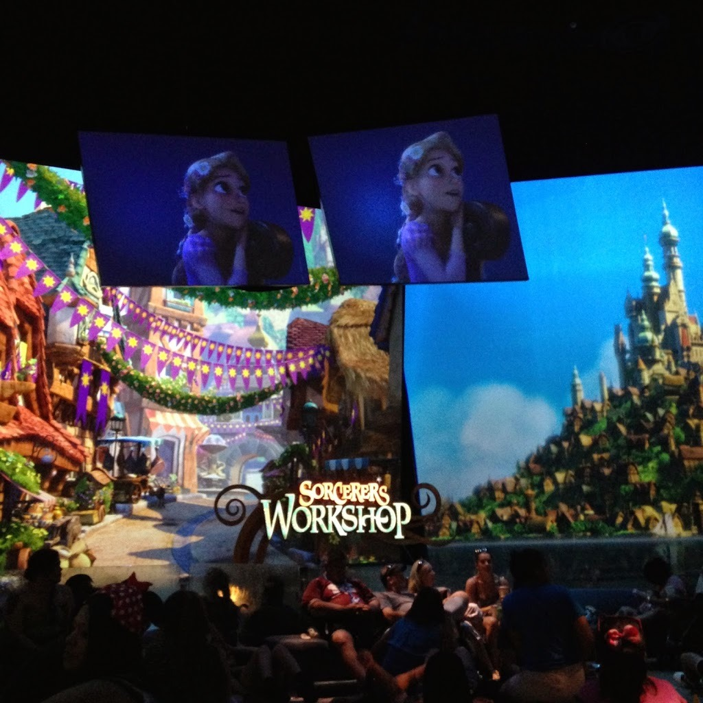 Sorcerer's Workshop in Disneyland
