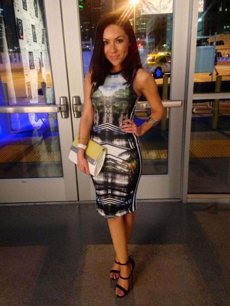 What I wore to Fashion Week San Diego 2014 Night 3