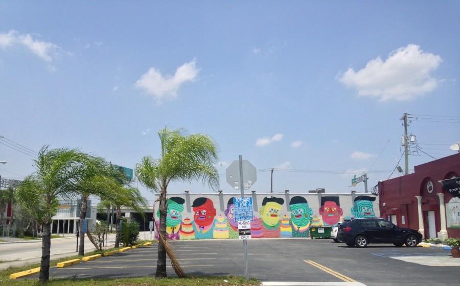 Kashnik's 50 cakes of Gay Mural in Wynwood Walls, Miami