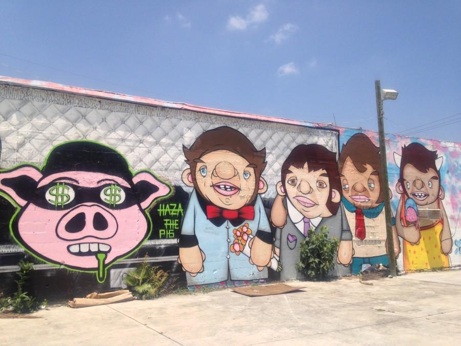 Wynwood Walls, Miami - Haza The Pig