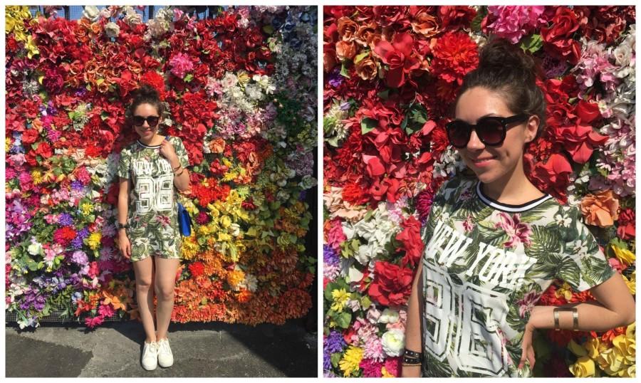 Flower gate by Fafi in Wynwood Walls Miami