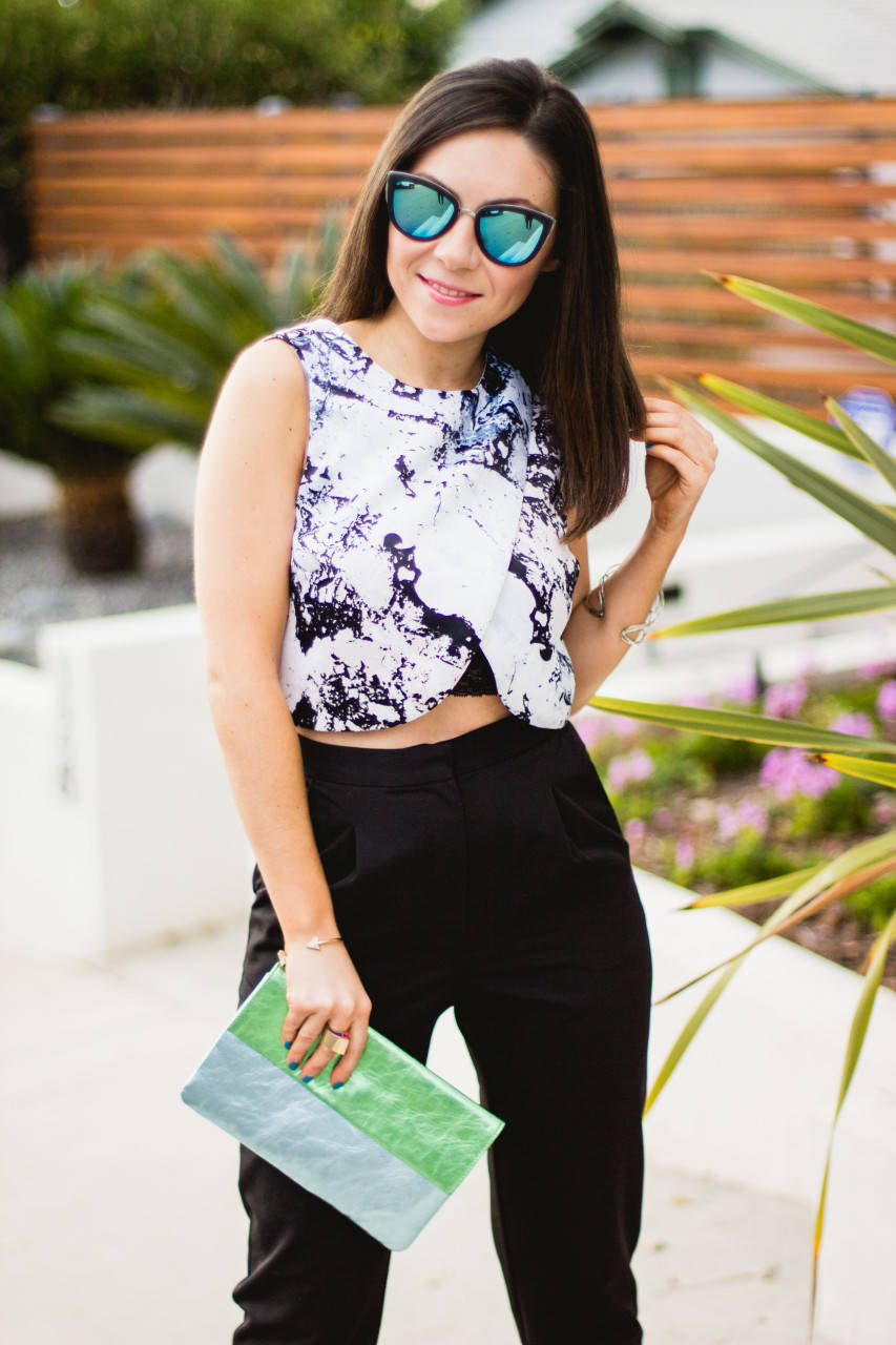 Marble Print Clothing
