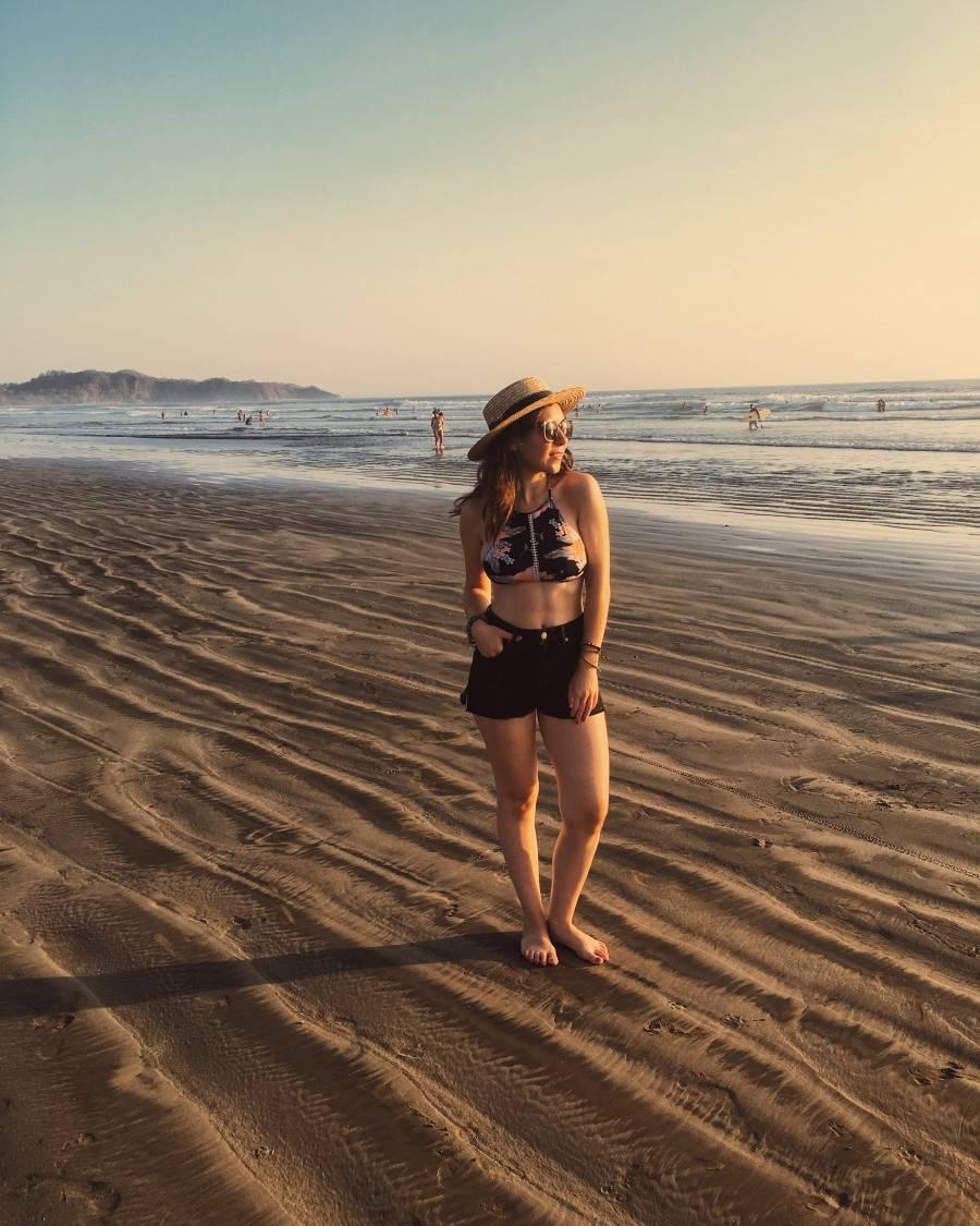 Top Five Bikinis - Sunset in Costa Rica Beach