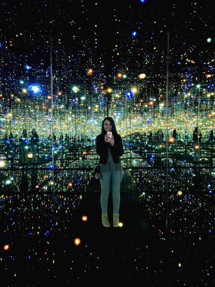 Yayoi Kusama Infinity Mirrored Room 5 must see artwork at the Broad Museum