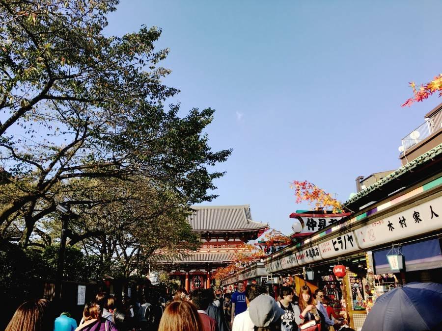 Sensō-ji Temple entrance Asakusa