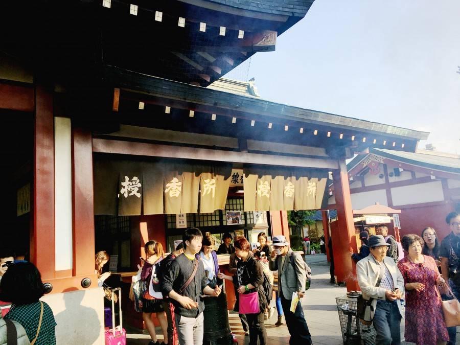 Asakusa buddhist temple Tokyo