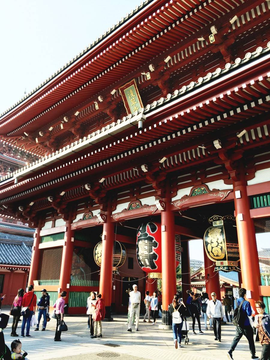Sensoji Temple Asakusa entrance