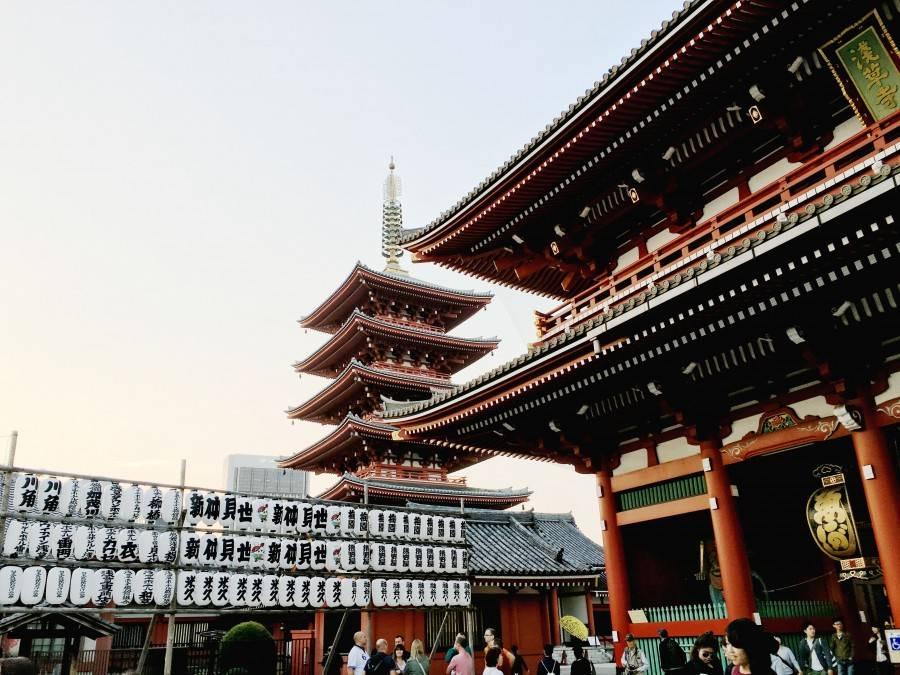 Sensō-ji Temple entrance