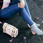 top 10 ankle boots for spring - Public Desire Chloe Perspex Heeled Ankle Boots in Grey