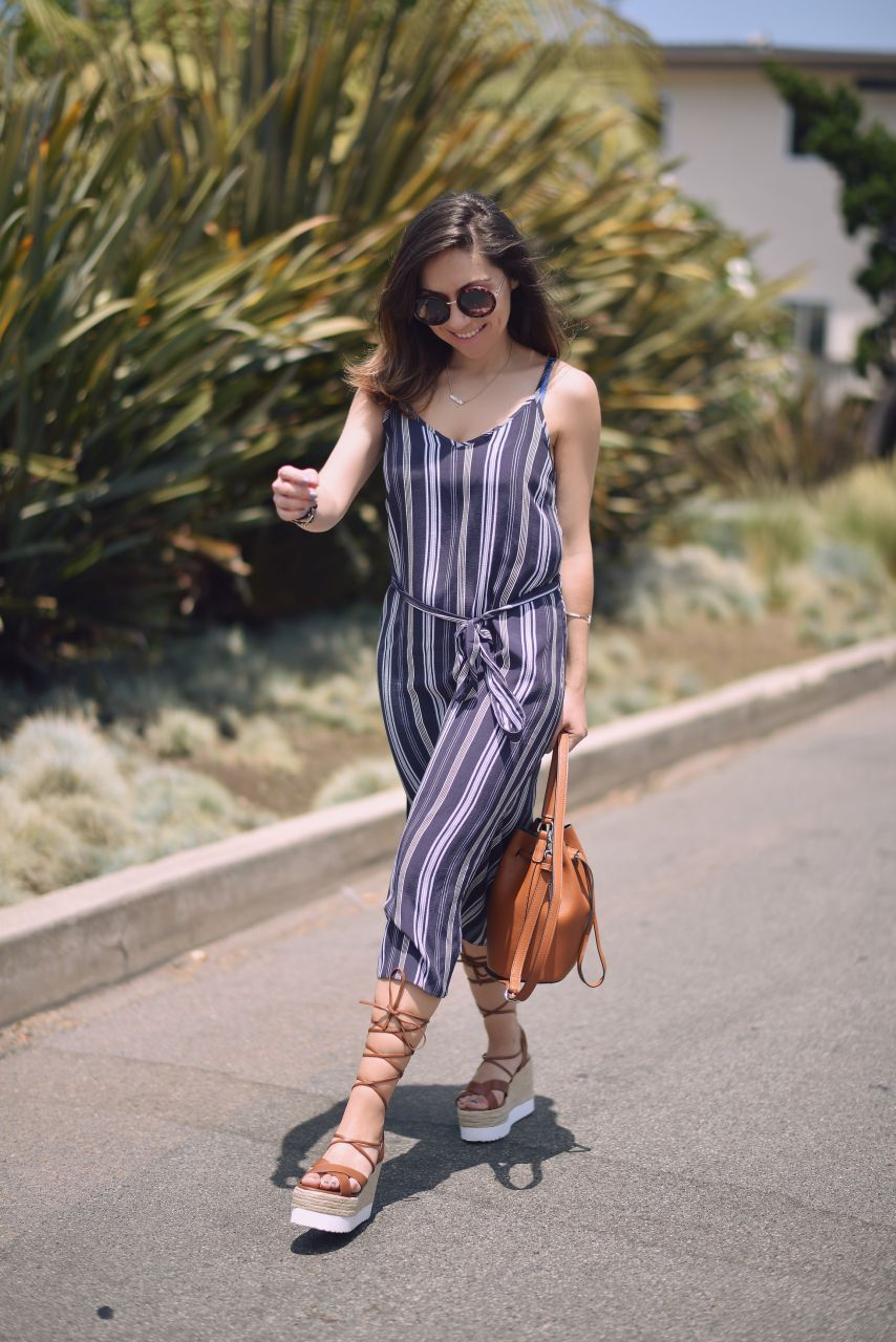 New look midi stripe dress