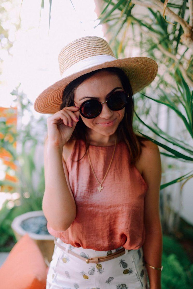 San Diego Style Blogger - Pineapple Princess Look