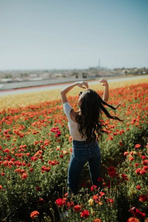 The Most Instagram Worthy Spot San Diego in Spring: Carlsbad Flower Fields