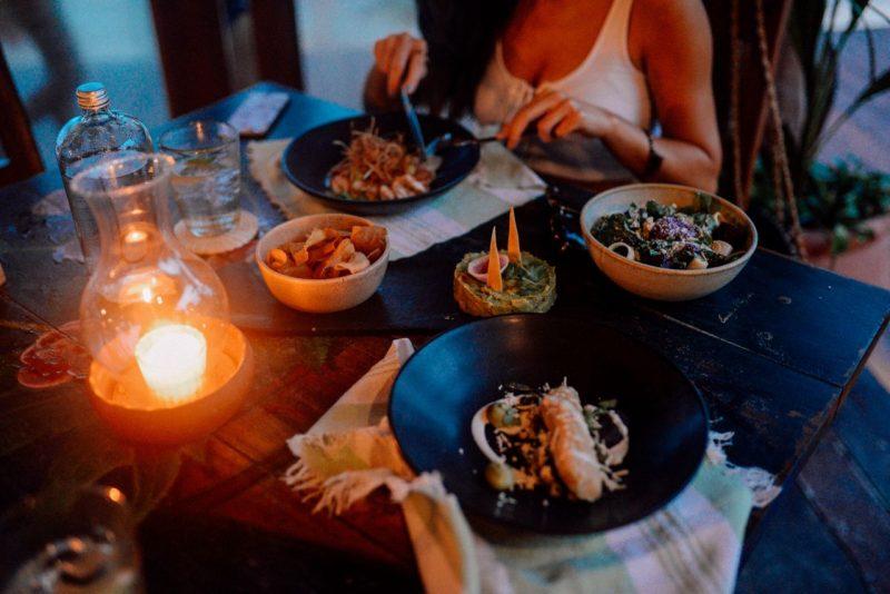 Dinner at La Zebra Restaurant Tulum