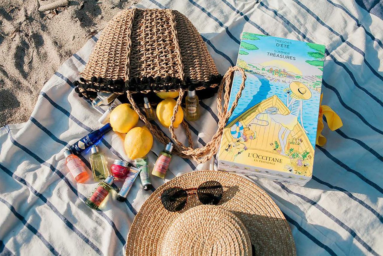 NEW TRAVEL BEAUTY MUST HAVE- L'OCCITANE SUMMER TREASURES SET