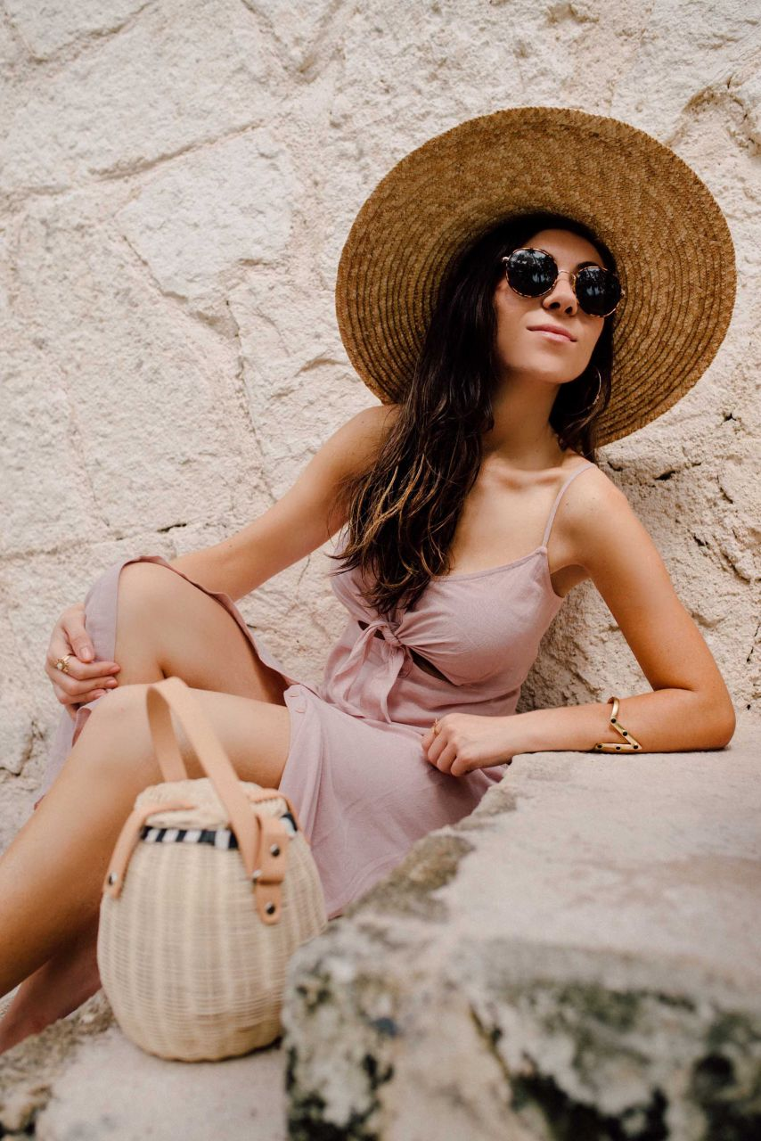 how to wear a slip dress this summer