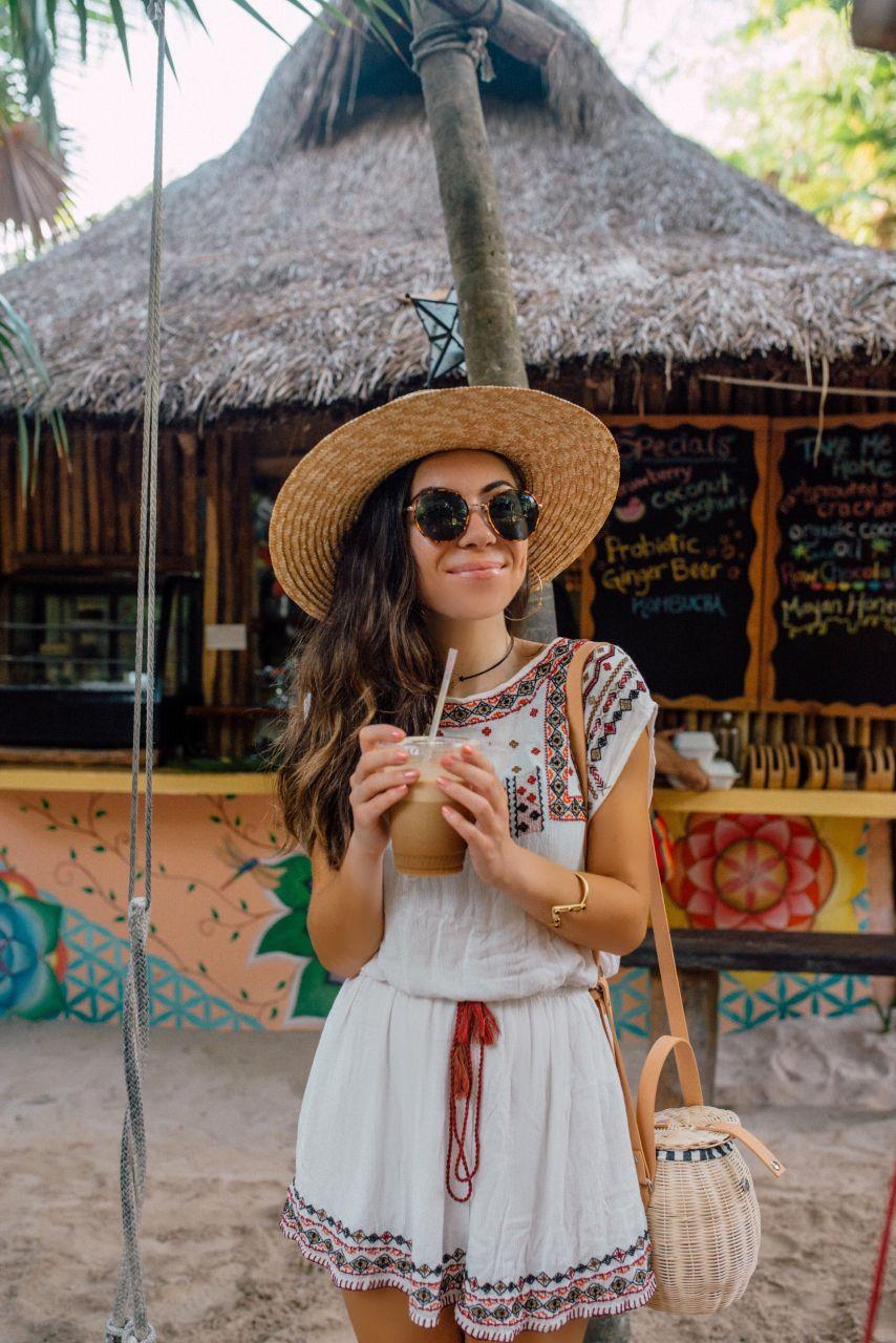 Raw Love Vegan cafe in Tulum Mexico