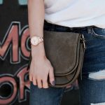 Style Blogger Style with Nihan Gorkem wearing Fossil rose gold watch