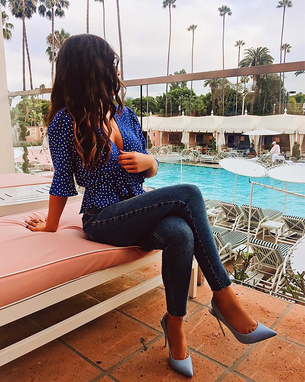 Beverly Hills Barbie Beverly Hills Hotel Topshop Jeans
