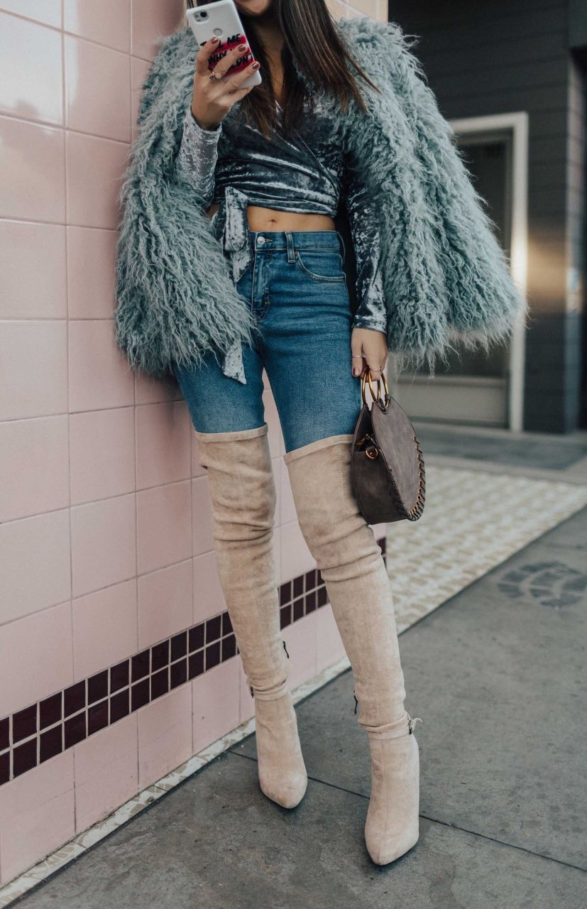How to style over the knee boots to flatter your body type