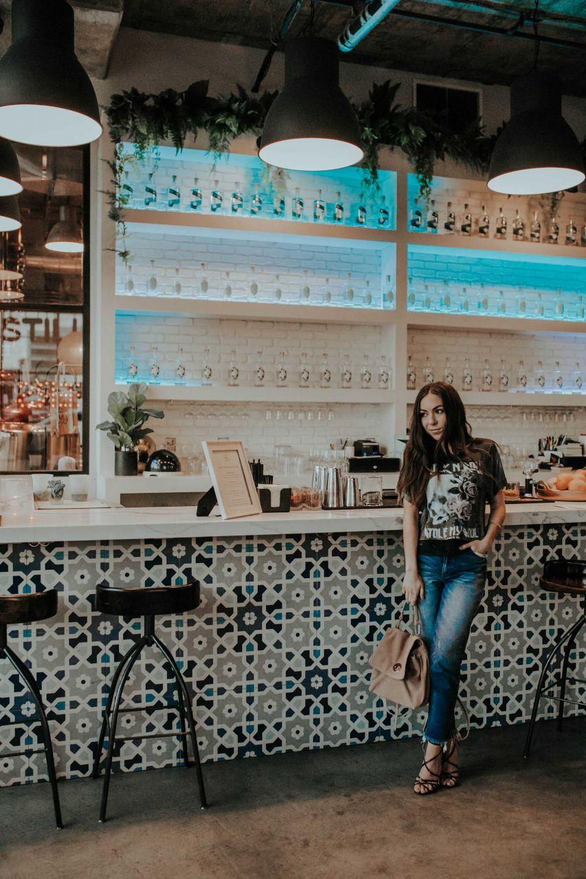 Cute tile bar Instagram worthy spot San Diego