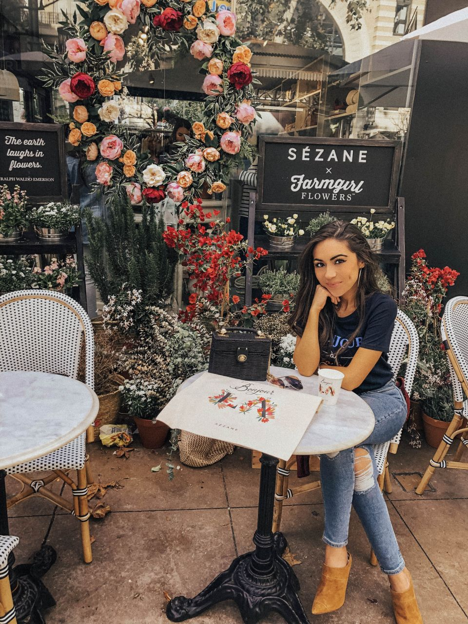 Sezane Pop-Up at the Grove LA
