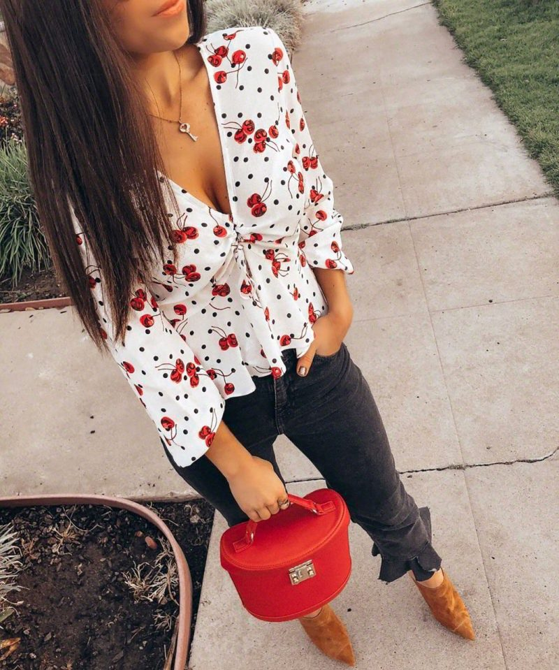 The trend you need to be wearing this spring: Cherry Print trend