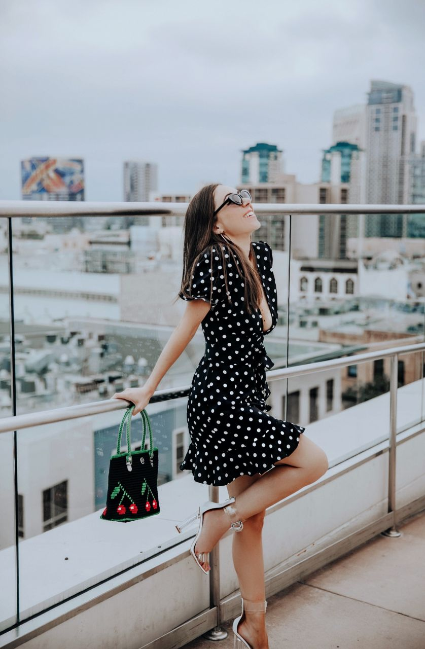 Style_with_Nihan_5 flattering polka dot dresses from ShopBop