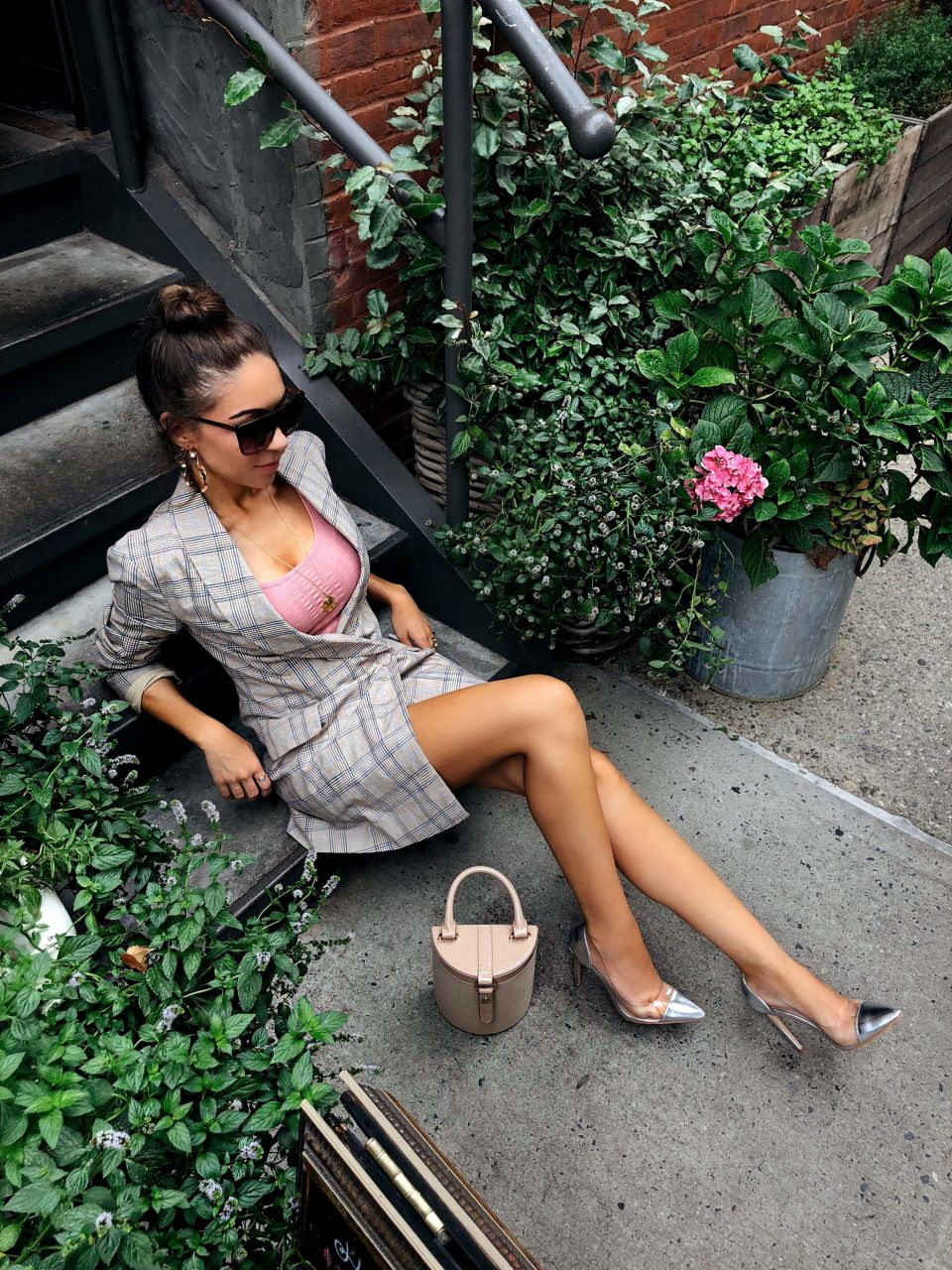 Style_with_Nihan_How_to_style_a_blazer_dress_Lovers_and_Friends_Blazer_dress_New_York_Fashion_Week