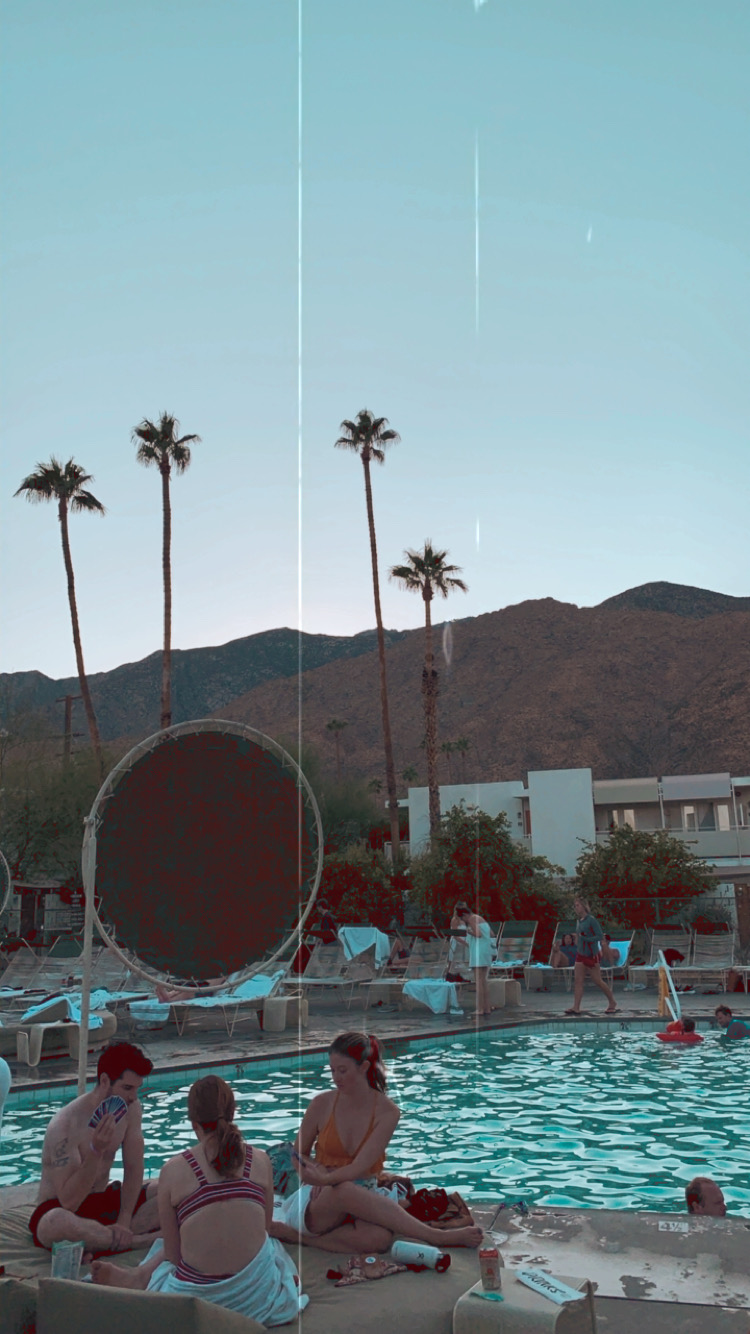 Ace Hotel Palm Springs Pool