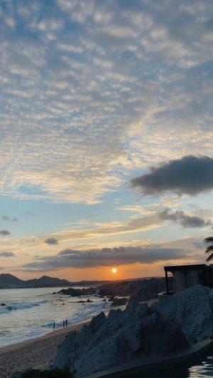 Los Cabos stunning sunset