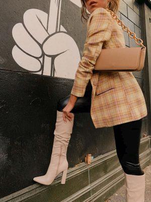 Public Desire knee high boots