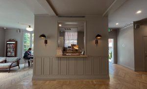 Palihotel Westwood Village chic lobby